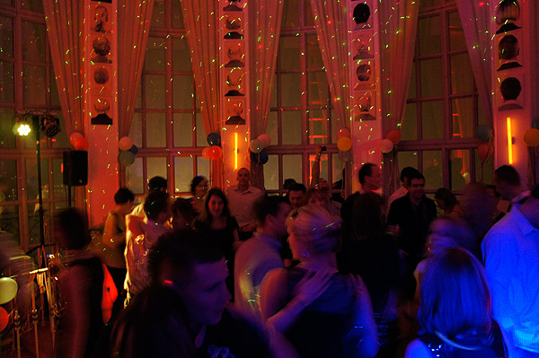 Silvesterparty in der Lounge im Turm Berlin